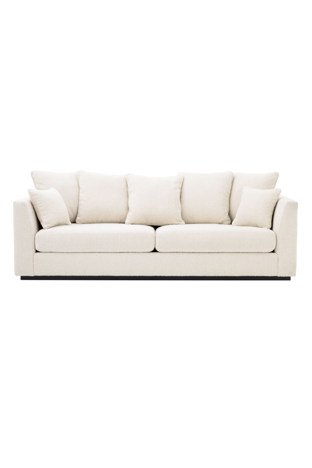 Bouclé Cream Sofa | Eichholtz Taylor | Woodfurniture.com