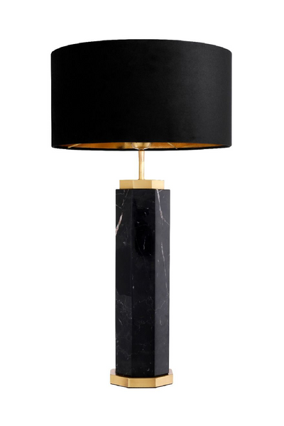 Black Marble Table Lamp | Eichholtz Newman | #1 Eichholtz Retailer