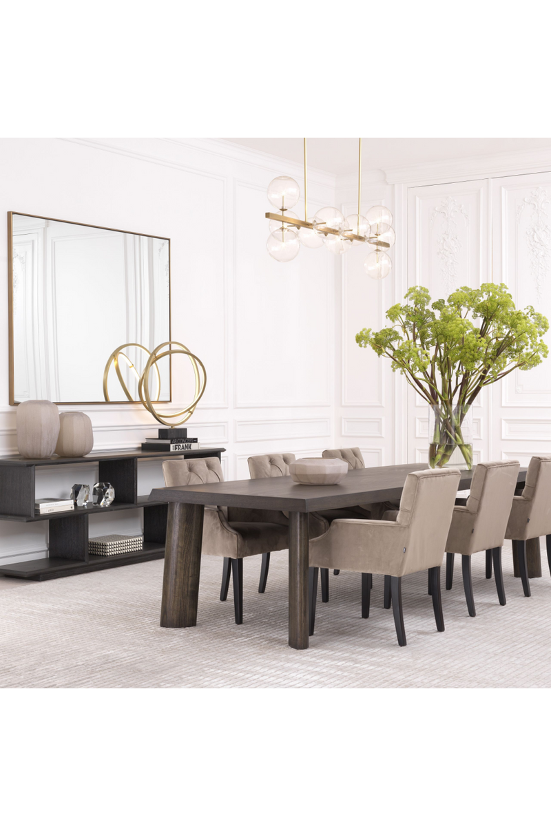Rectangular Oak Dining Table | Eichholtz Dune