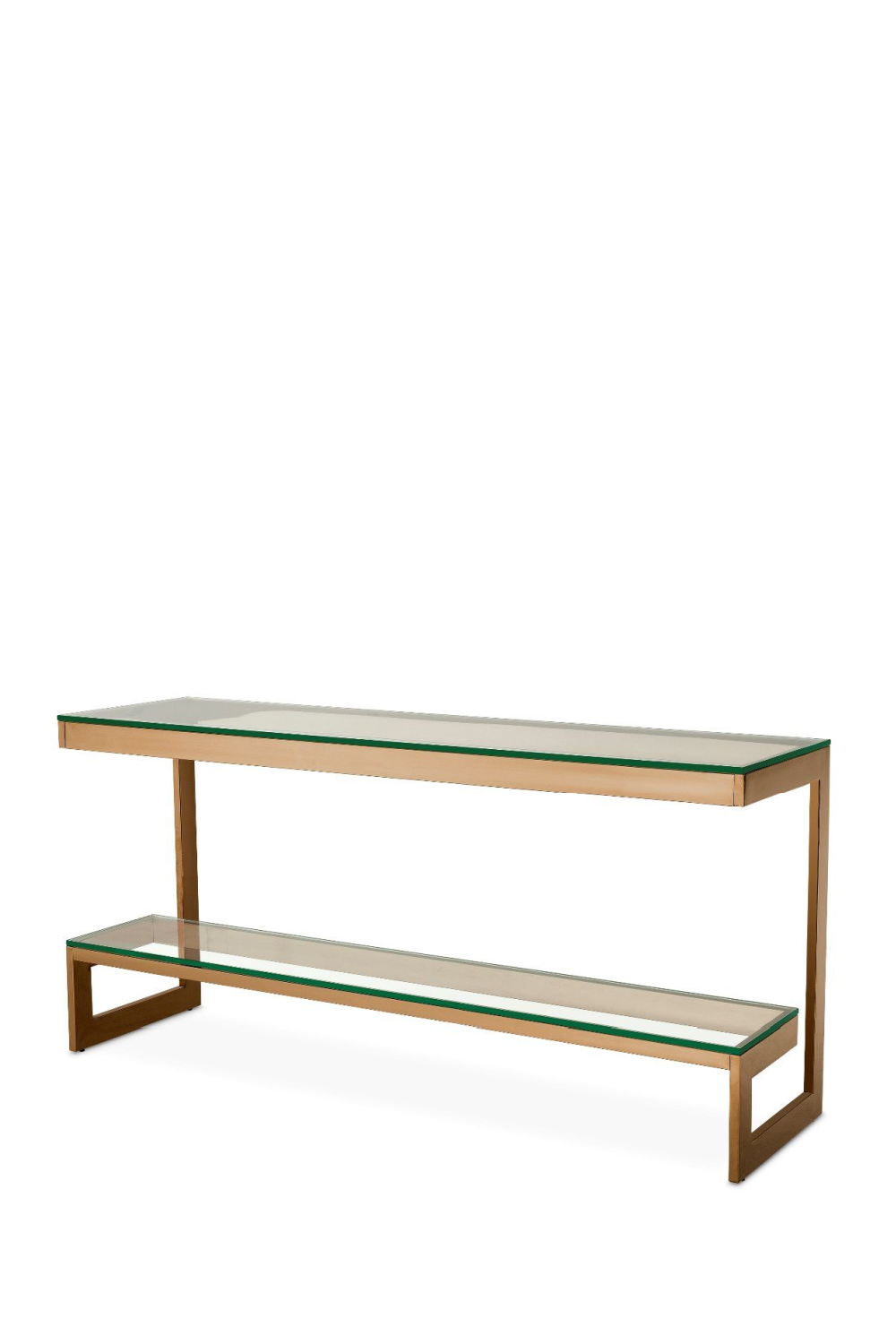 Brushed Brass Console Table | Eichholtz Gamma | OROA