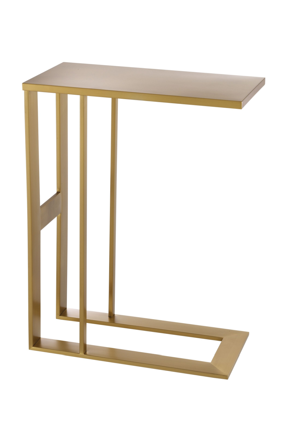 Brass C-Shaped Side Table | Eichholtz Pierre