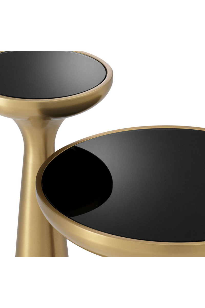 Brass Tower Side Table | Eichholtz Lindos high |