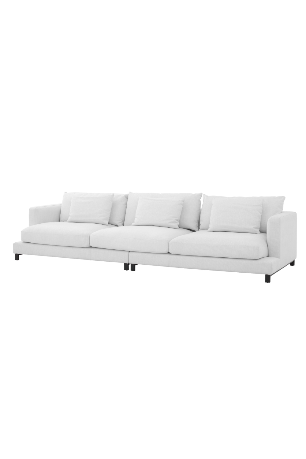 White 3-Seater Sofa | Eichholtz Burbury