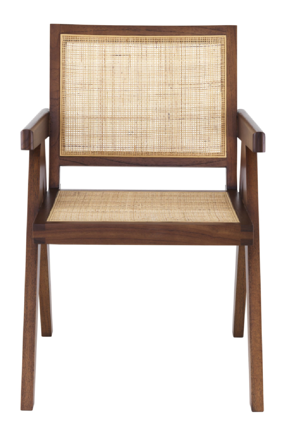 Classic Brown Rattan Dining Chair | Eichholtz Aristide