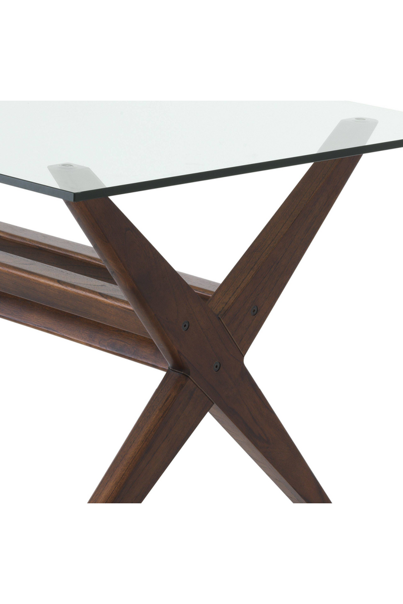 Wooden X-Shaped Legs Dining Table | Eichholtz Maynor |