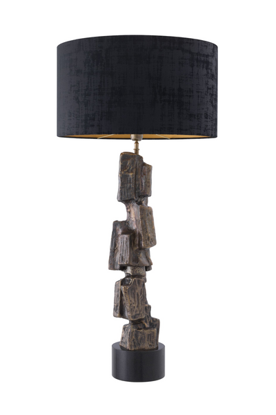 Black Granite Table Lamp | Eichholtz Noto | #1 Eichholtz Retailer