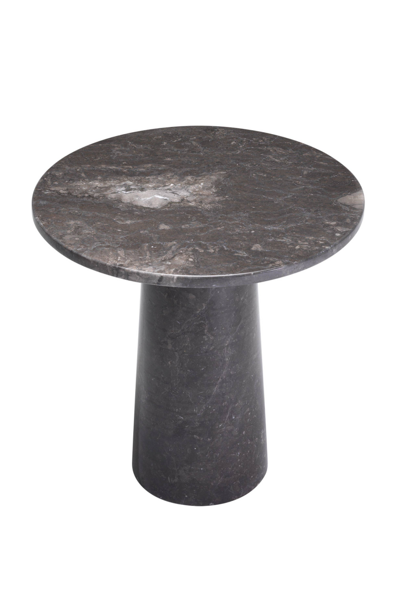 Marble Pedestal Side Table | Eichholtz Terry |