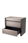 Gray Oak Bedside Table | Eichholtz Meribel |#1 Eichholtz Retailer