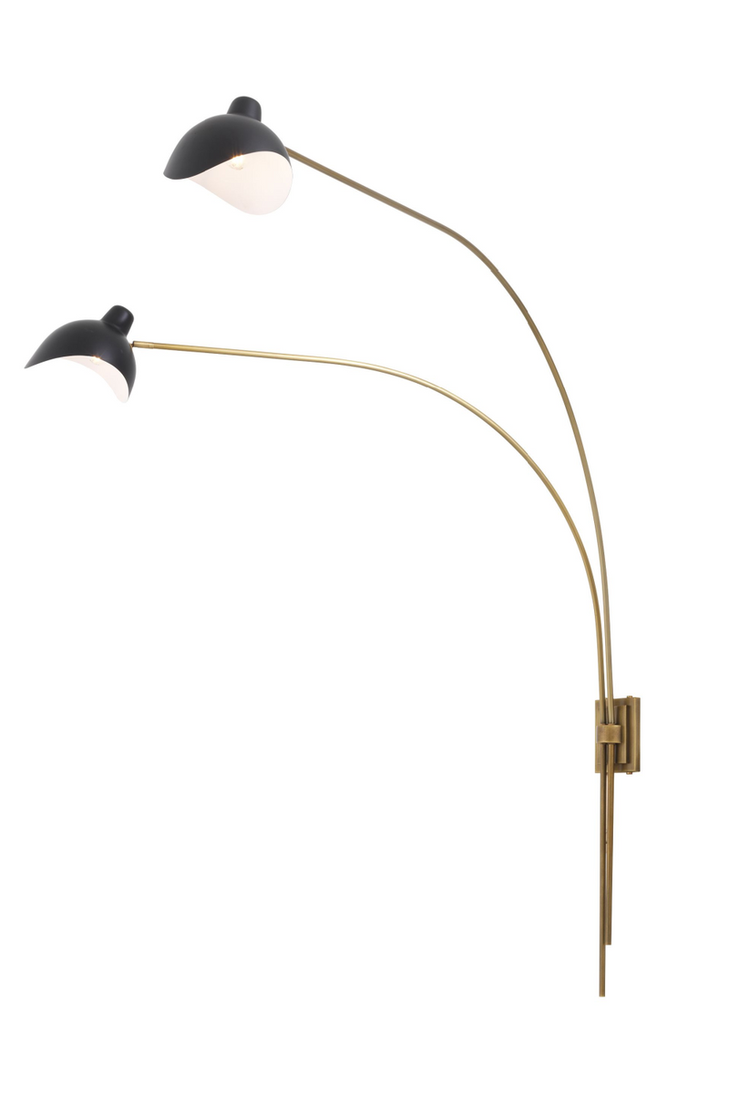 Brass 2-Light Wall Lamp | Eichholtz Mitch | #1 Eichholtz Retailer
