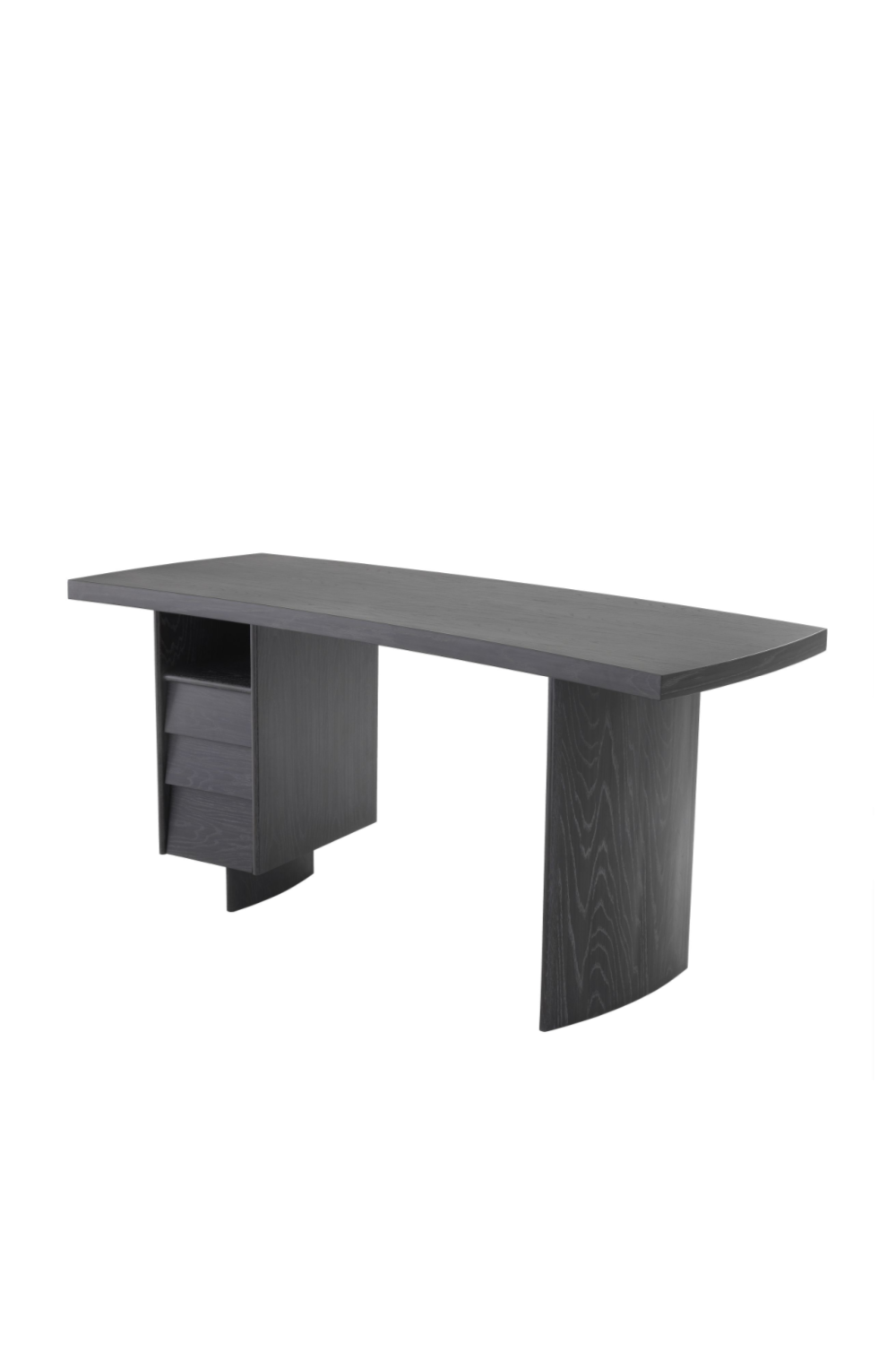 Charcoal Gray Oak Desk | Eichholtz Virage | #1 Eichholtz Retailer