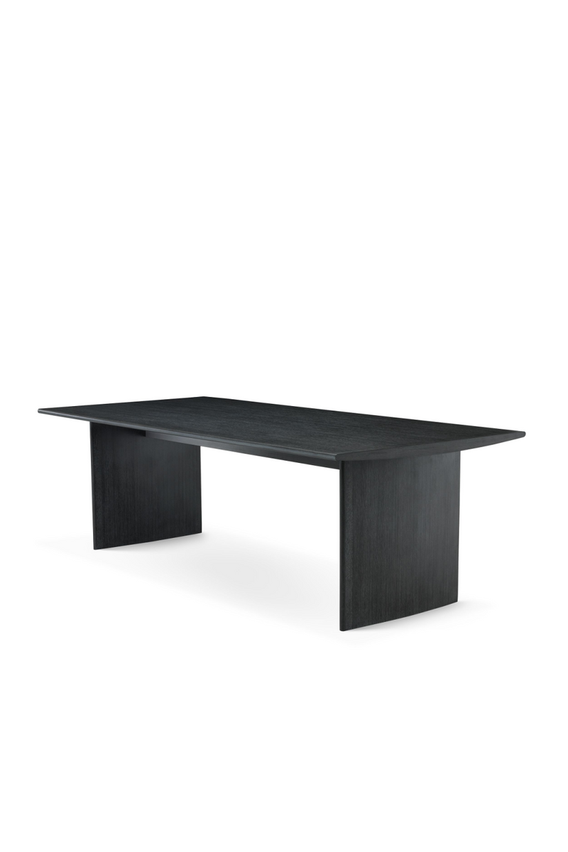 Rectangular Charcoal Dining Table | Eichholtz Tricia | OROA
