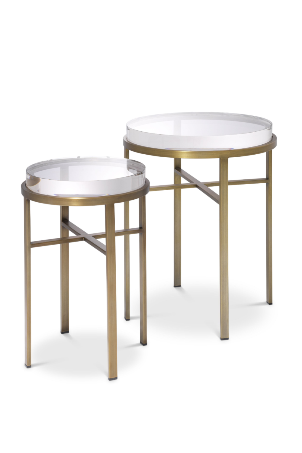 Brass Side Table Set (2) | Eichholtz Hoxton | #1 Eichholtz Retail
