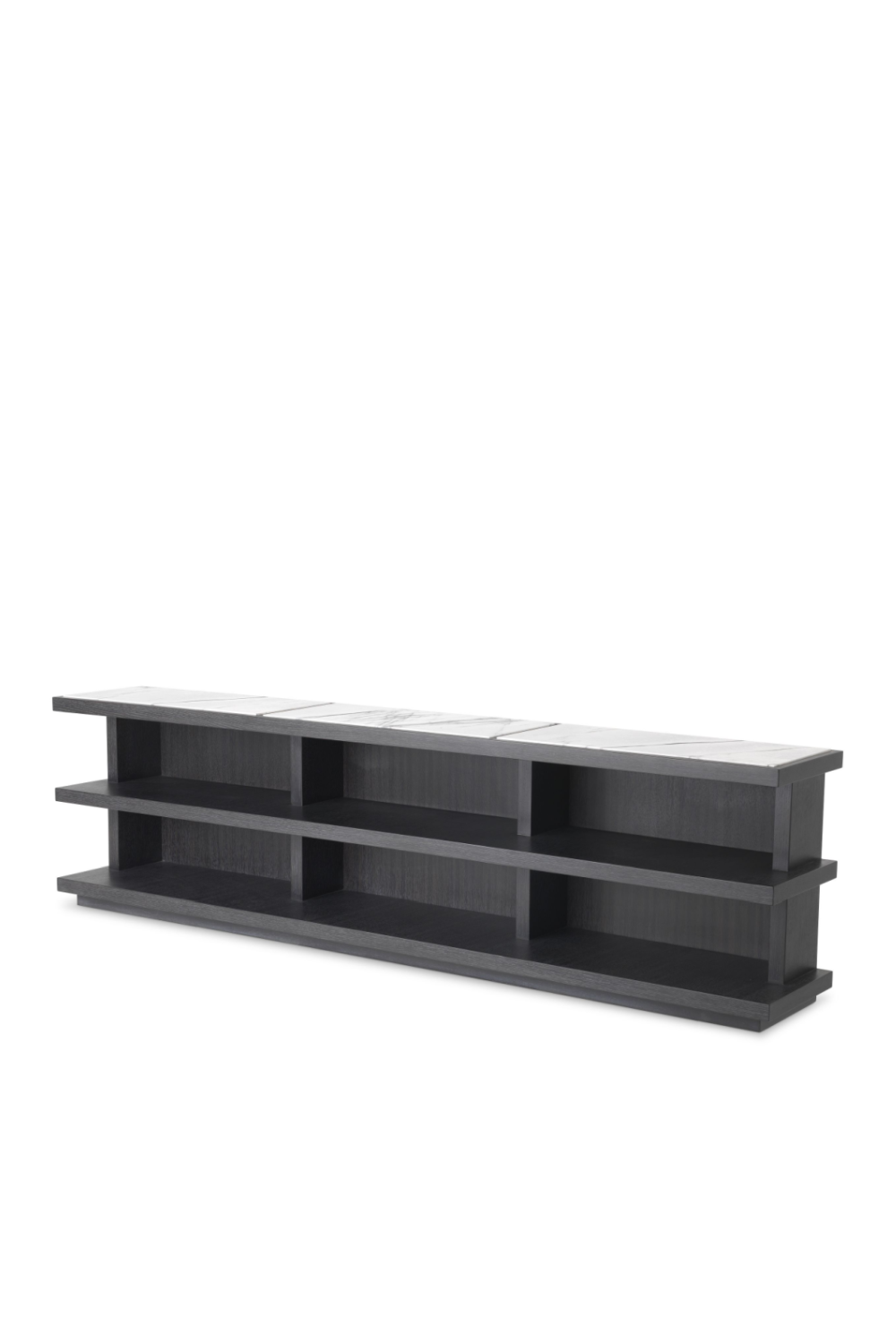 Charcoal Gray Oak TV Cabinet | Eichholtz Miguel