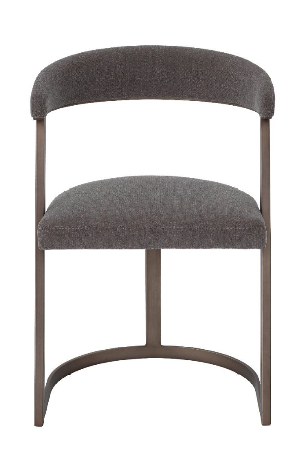 Bronze Curved Back Dining Chair | Eichholtz Dexter | OROA Luxury Furniture