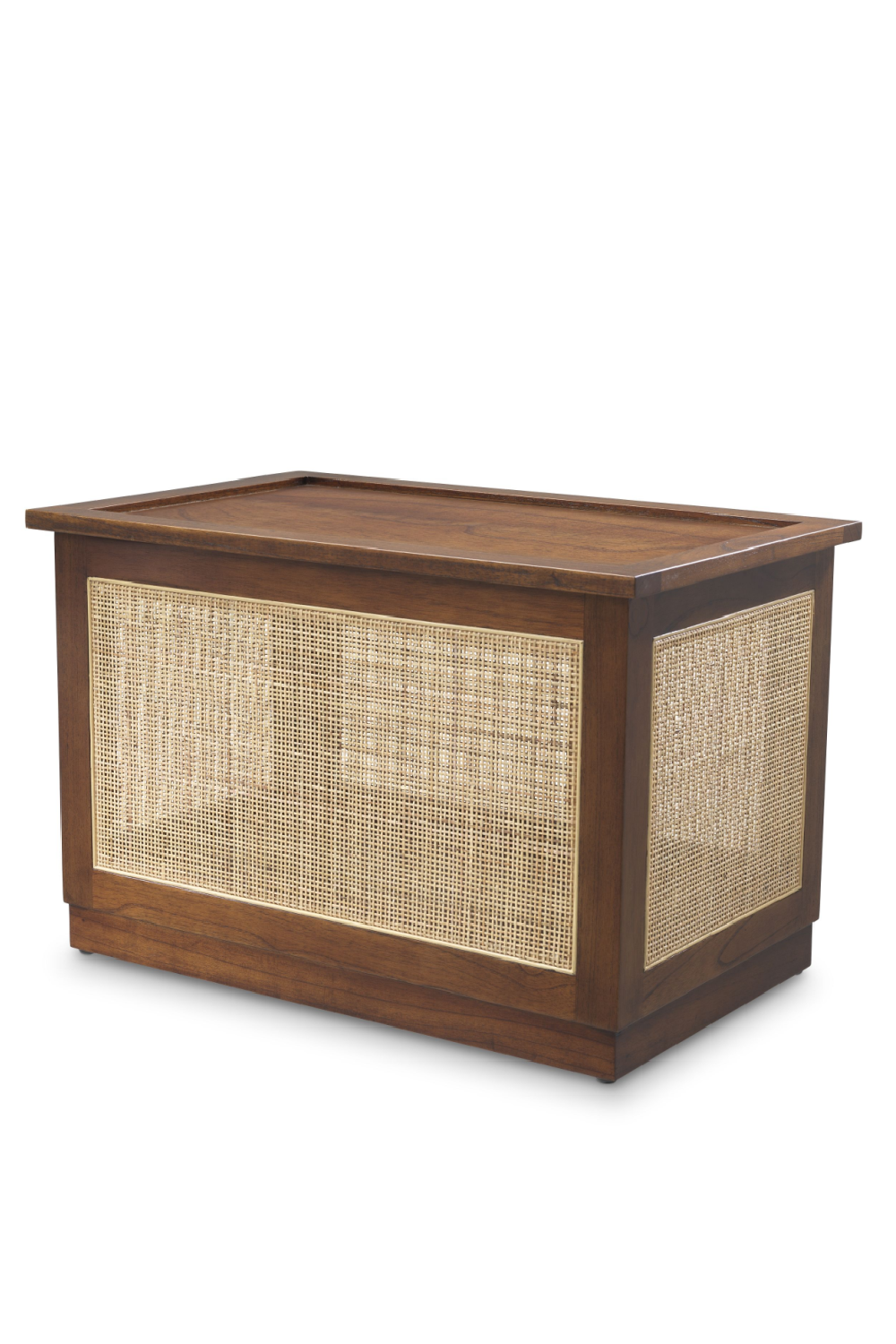 Brown Rattan Cane Trunk | Eichholtz Philbert | Woodfurniture.com