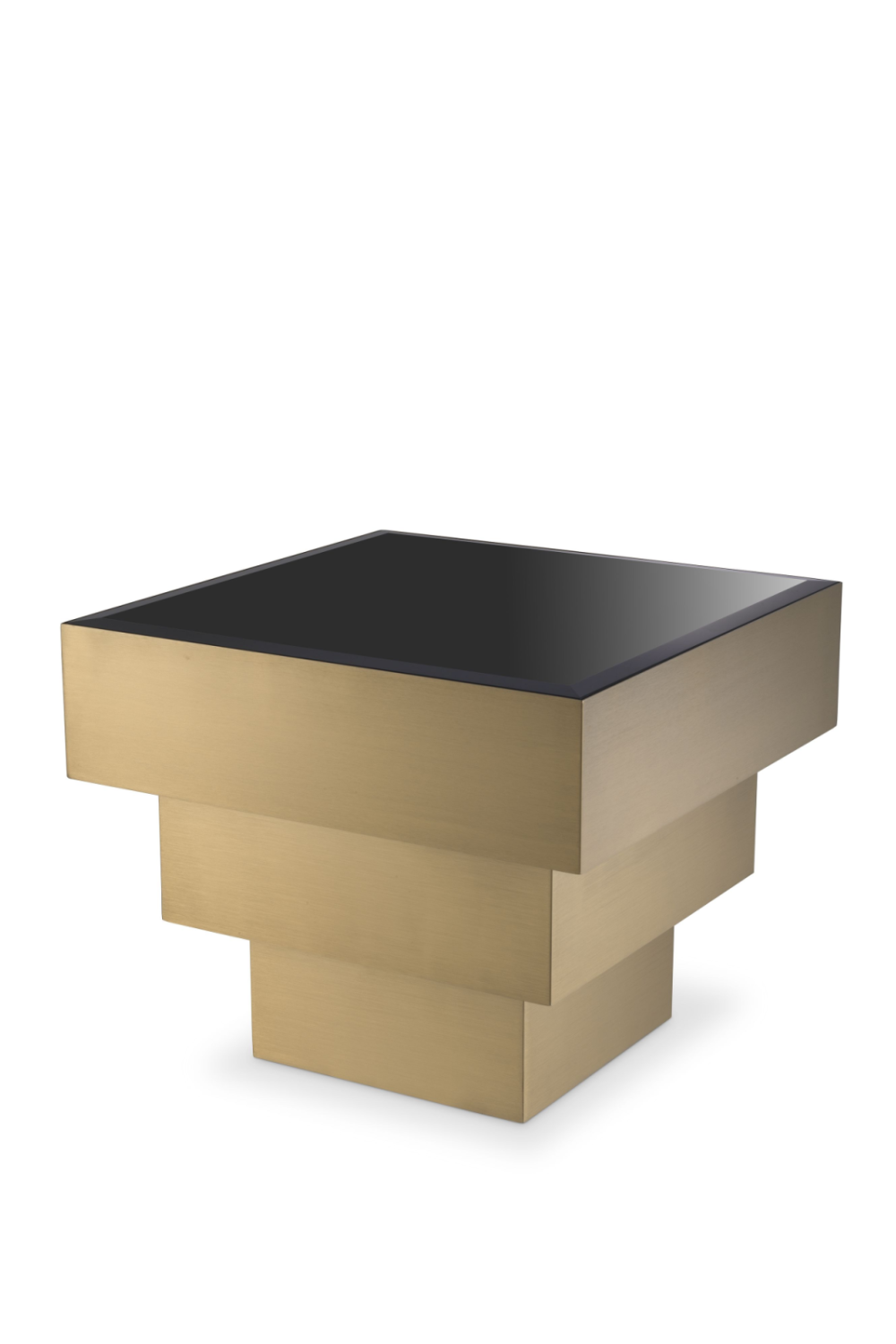 Brass Square Layered Side Table | Eichholtz Diaz | #1 Eichholtz Retailer