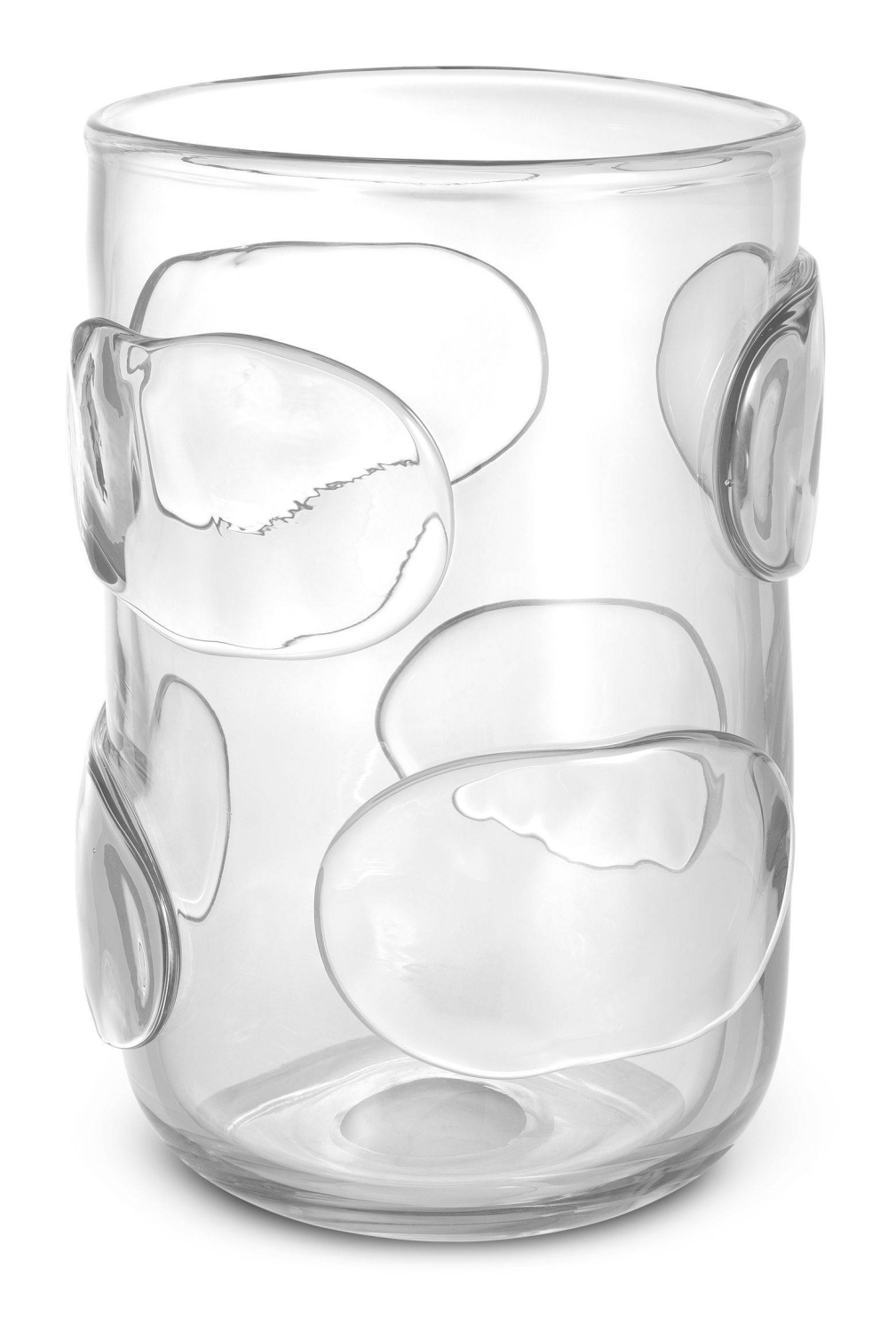 Clear Handblown Glass Vase | Eichholtz Valerio L
