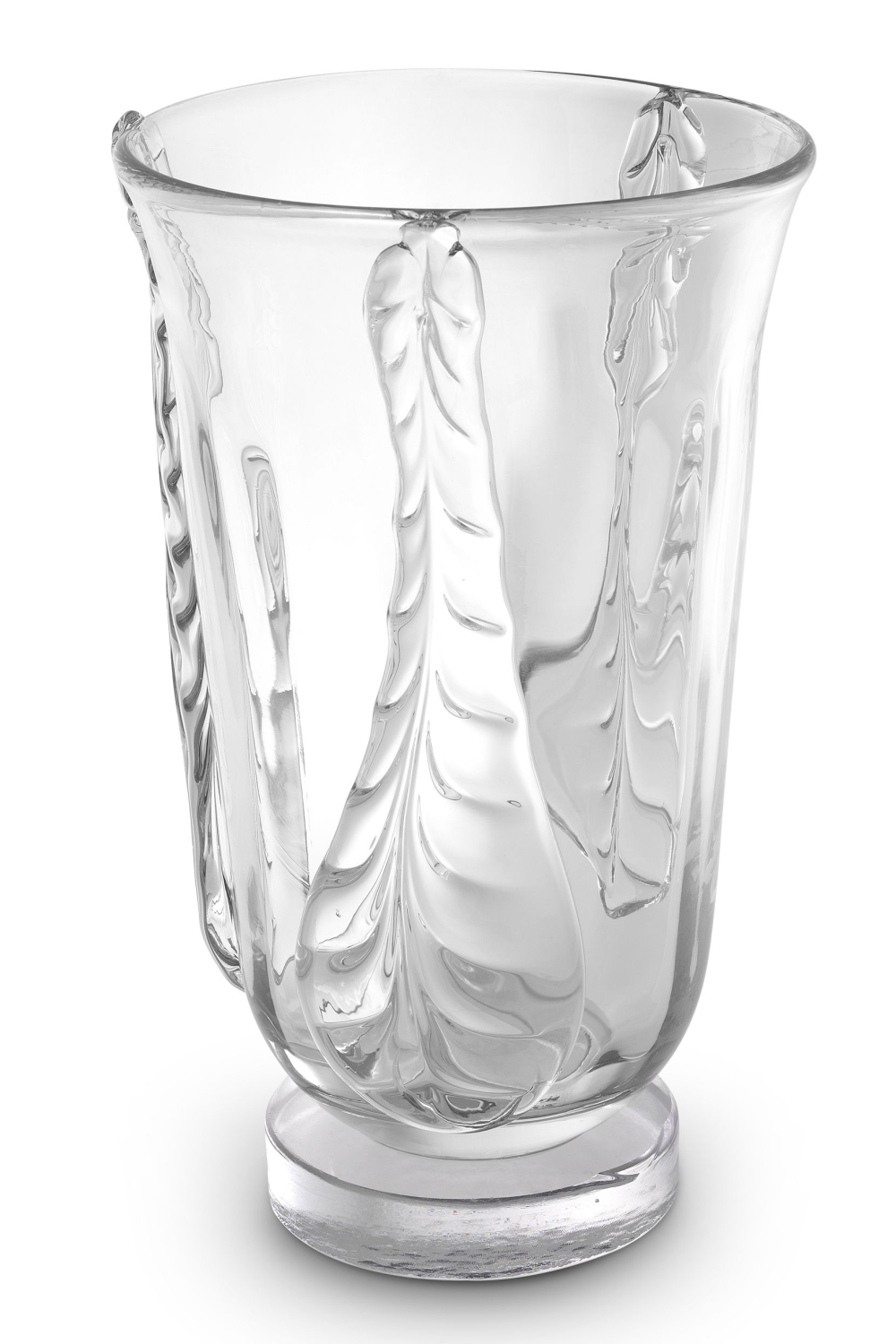Clear Handblown Glass Vase | Eichholtz Sergio L