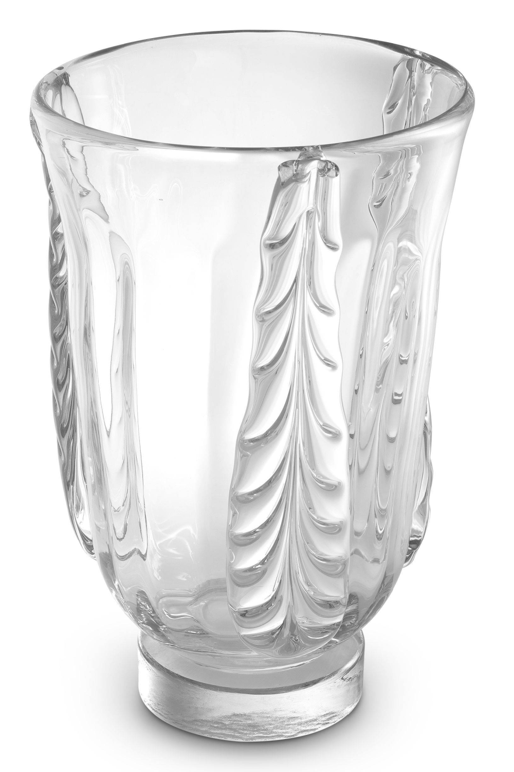 Clear Handblown Glass Vase | Eichholtz Sergio S