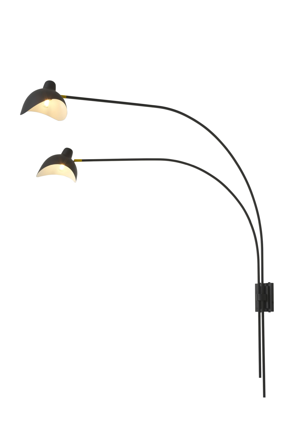 Black 2-Light Wall Lamp | Eichholtz Mitch | #1 Eichholtz Retailer