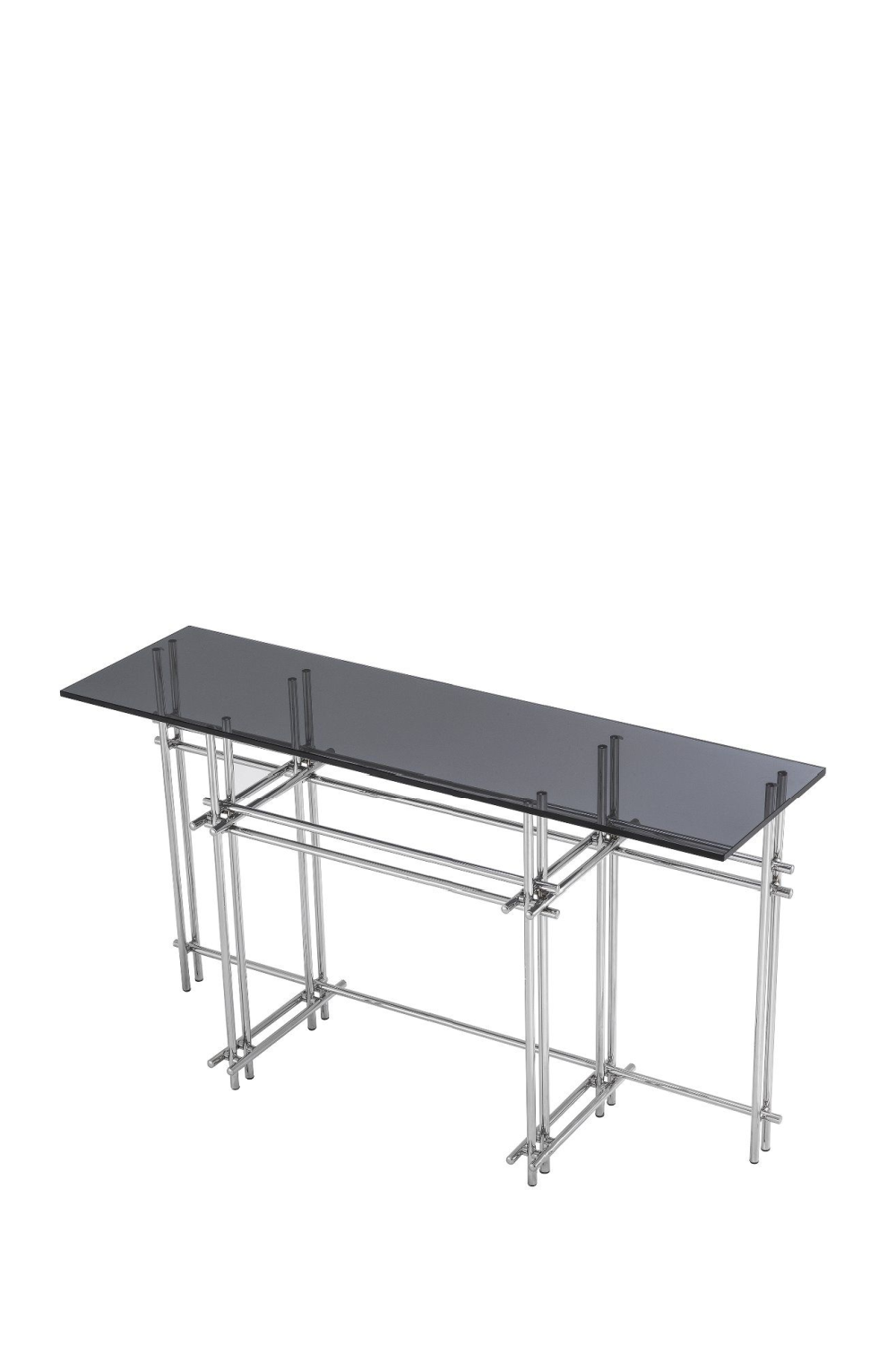 Smoked Glass Steel Console Table | Eichholtz Quinn | #1 Eichholtz