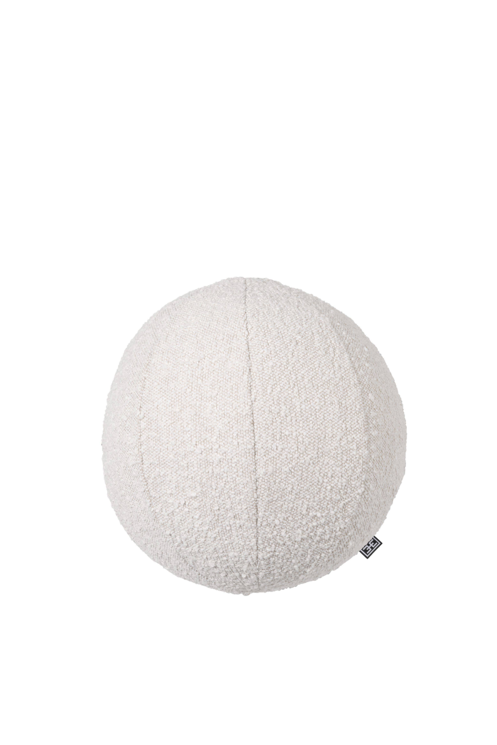 Boucle Cream Ball Shaped Pillow - Eichholtz Palla S