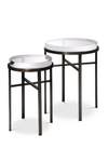 Bronze Side Table Set (2) | Eichholtz Hoxton | #1 Eichholtz Retailer