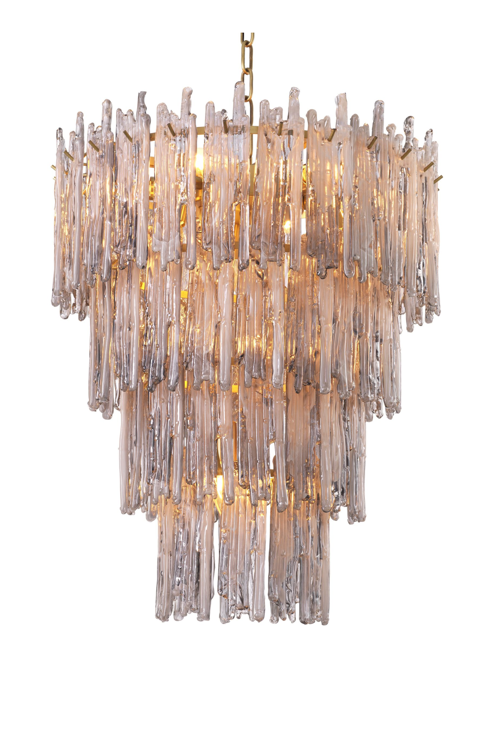 Smoked Glass Layered Chandelier S | Eichholtz Saint Roch