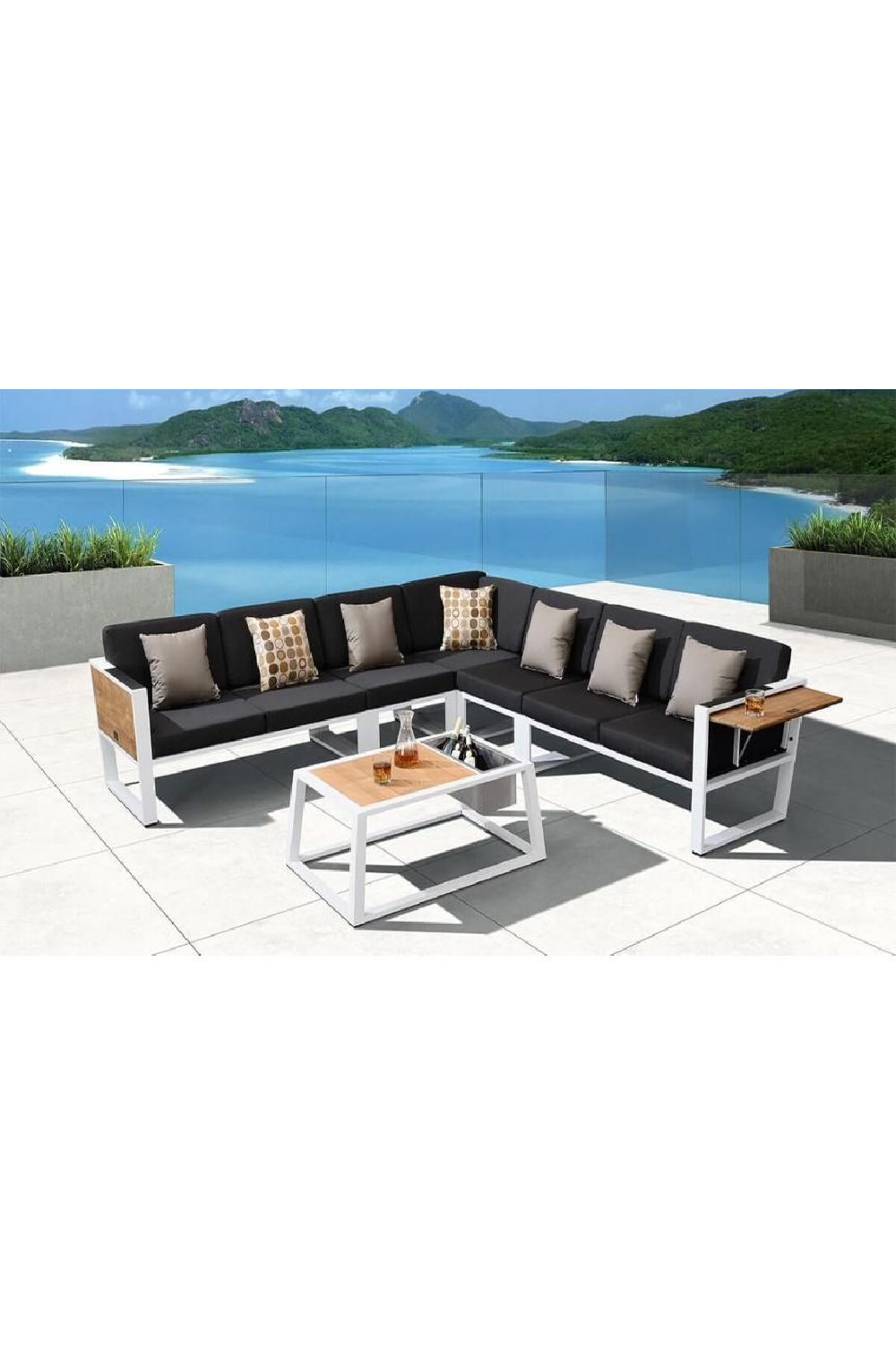 Outdoor Sectional Lounge Set | Higold York