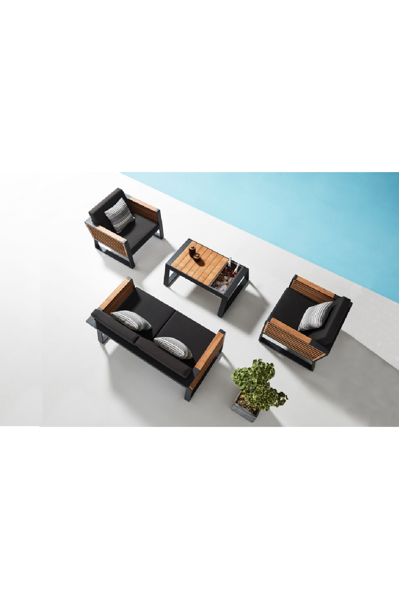 2-Seater Lounge Outdoor Set | هيجولد نيويورك