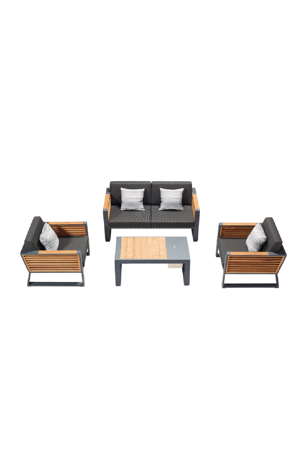 2-Seater Lounge Outdoor Set | Higold New York
