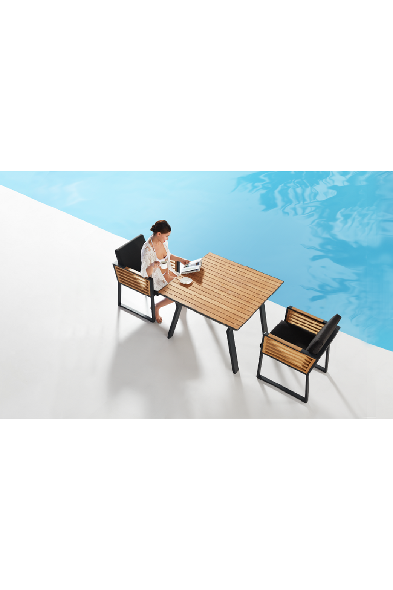 Outdoor Dining Set (4 Stole) | Higold New York | OROA Møbler