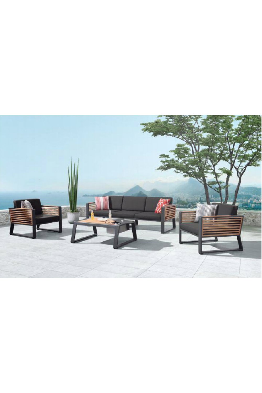 3-Seater Lounge Outdoor Set | Higold New York
