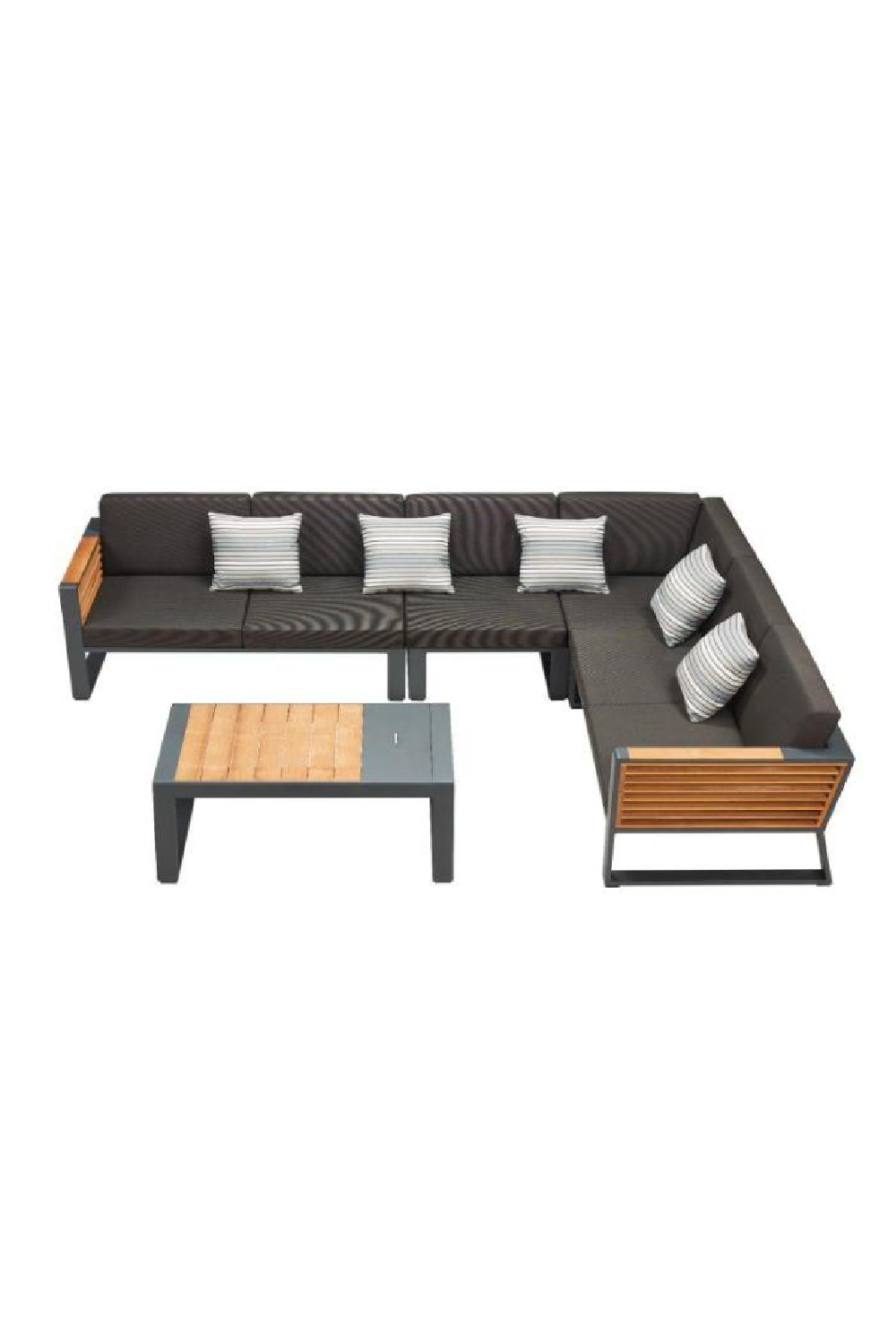 Corner Outdoor Lounge Set | Higold New York | OROA Luxury Furniture
