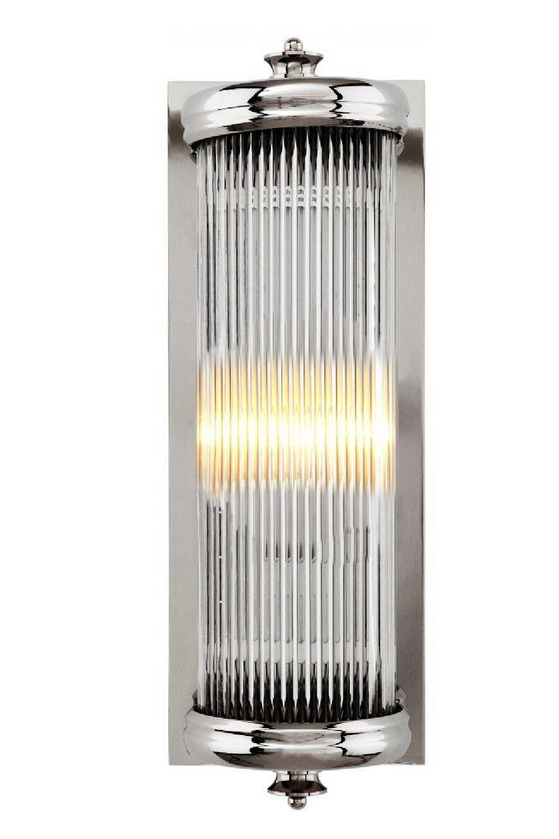 Nickel Wall Lamp S | Eichholtz Glorious |