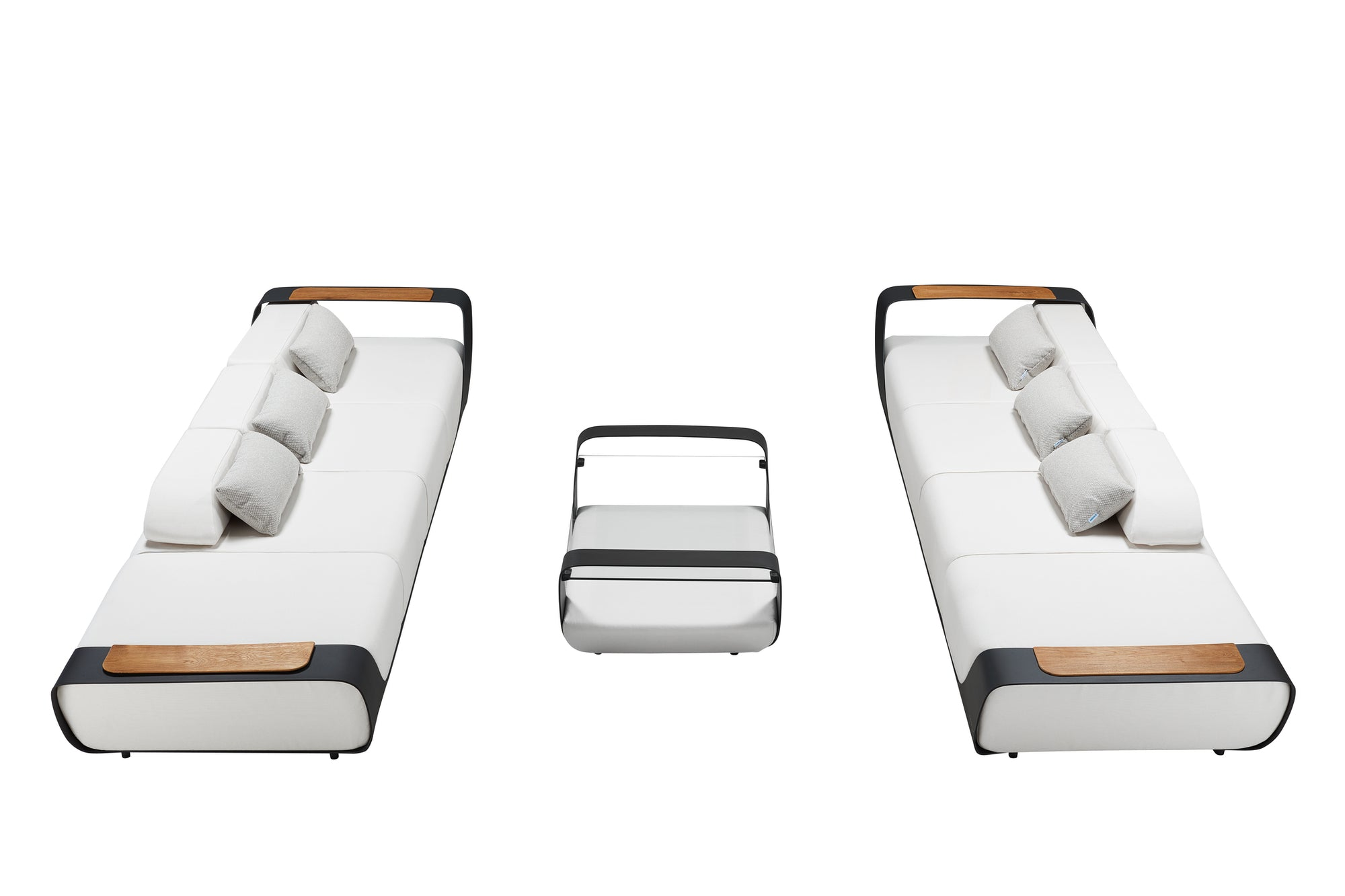 Double Sofa Outdoor Lounge Set | Higold Pininfarina | OROA Furniture