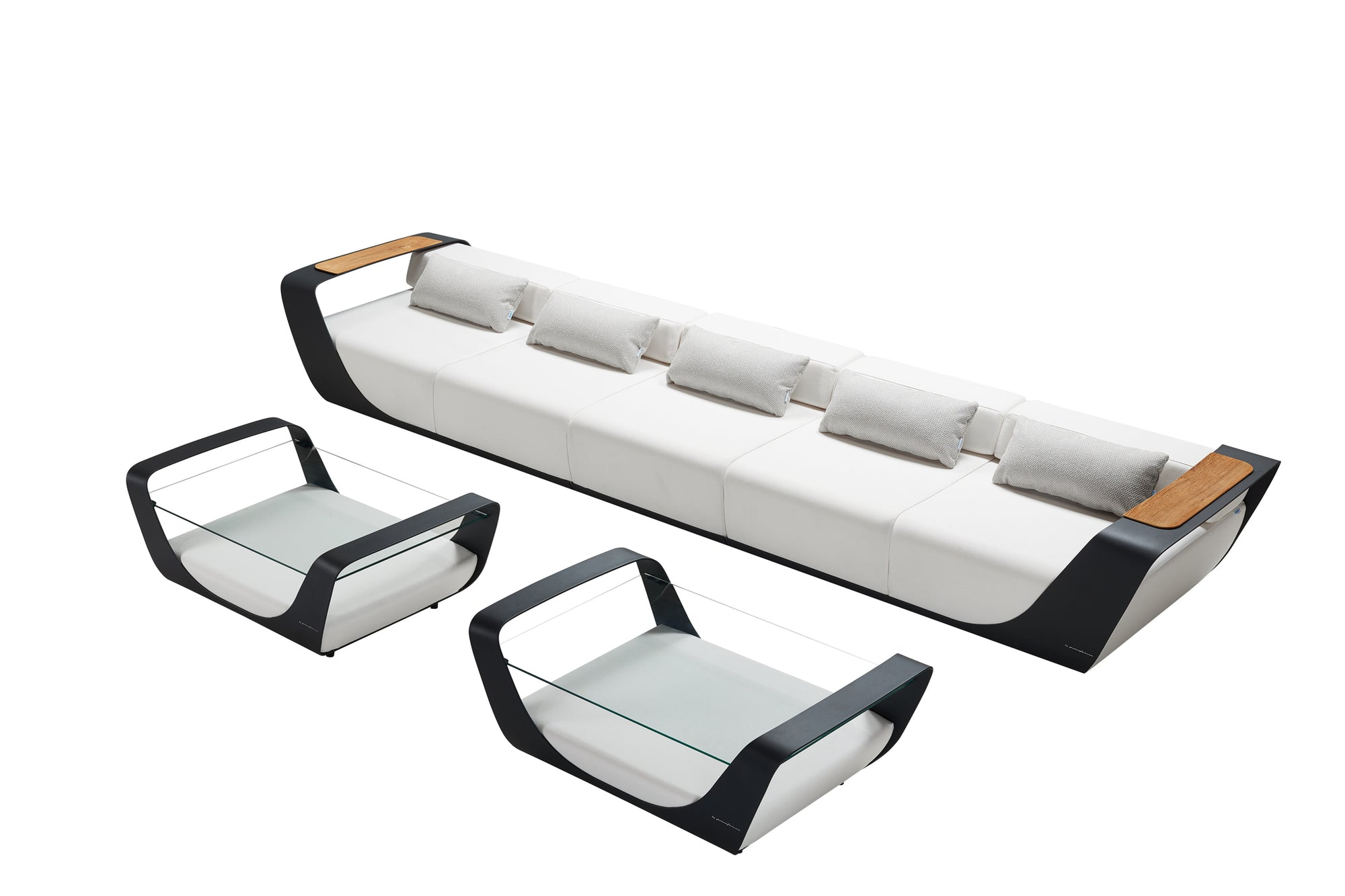 Single Sofa Outdoor Lounge Set | Higold Pininfarina