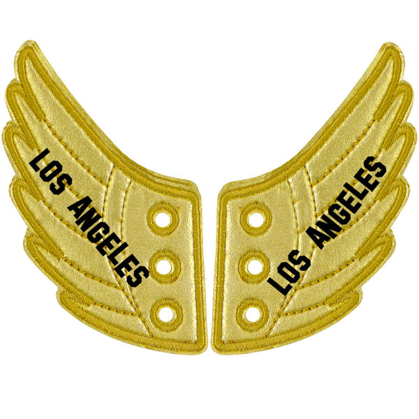LOS ANGELES GOLD FOIL WINGS