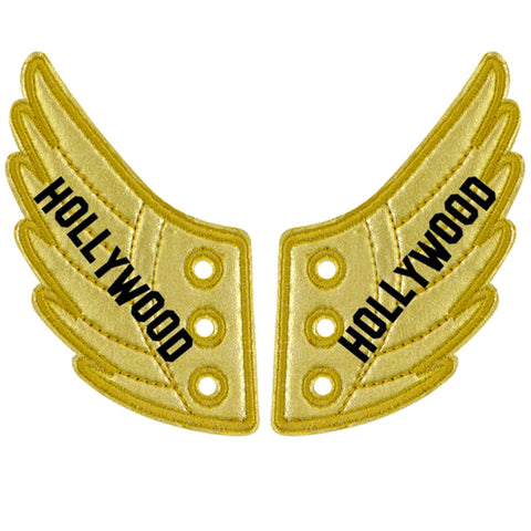 HOLLYWOOD GOLD FOIL WINGS