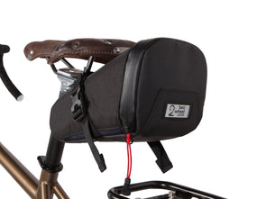 Two Wheel Gear - Commute Seat Pack - Black - Under Bike Saddle