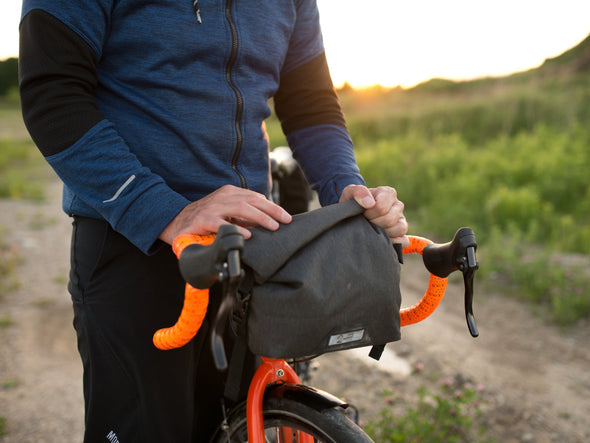 Two Wheel Gear - Dayliner Mini Handlebar Bag - Black - Gravel Bike