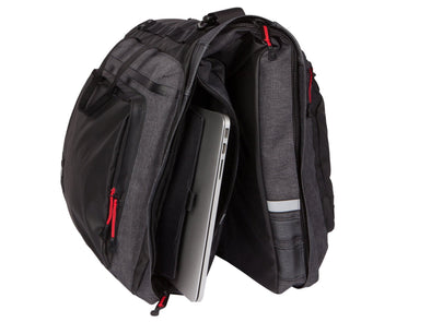 Two Wheel Gear - Classic 3.0 Garment Pannier - Graphite Grey - Bike Suit Bag - Laptop Pocket (4430480179260)