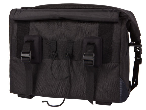 Two Wheel Gear - Dayliner Box Bag - Black - Trunk Handlebar - Back - Mounts