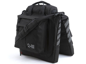Two Wheel Gear - Garment Pannier - Classic 2.1 - Black - Bike Bag - Standing (2452816658492)