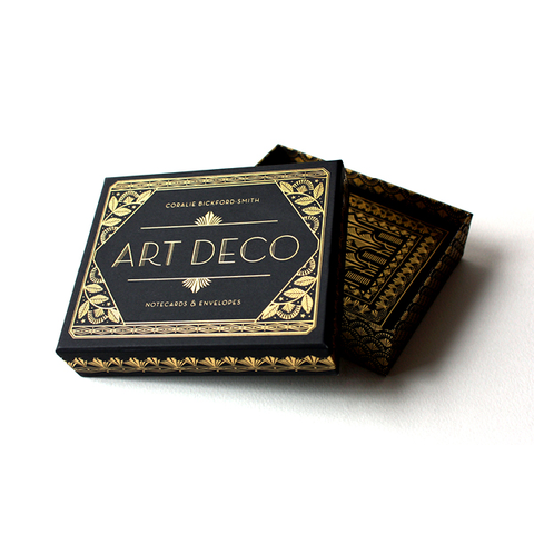 Art Deco Notecards & Envelopes Coralie Bickford-Smith