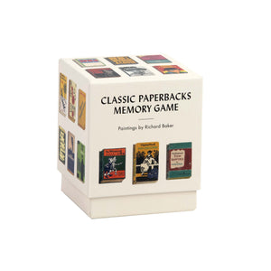 Classic Paperbacks Memory Game Richard Baker