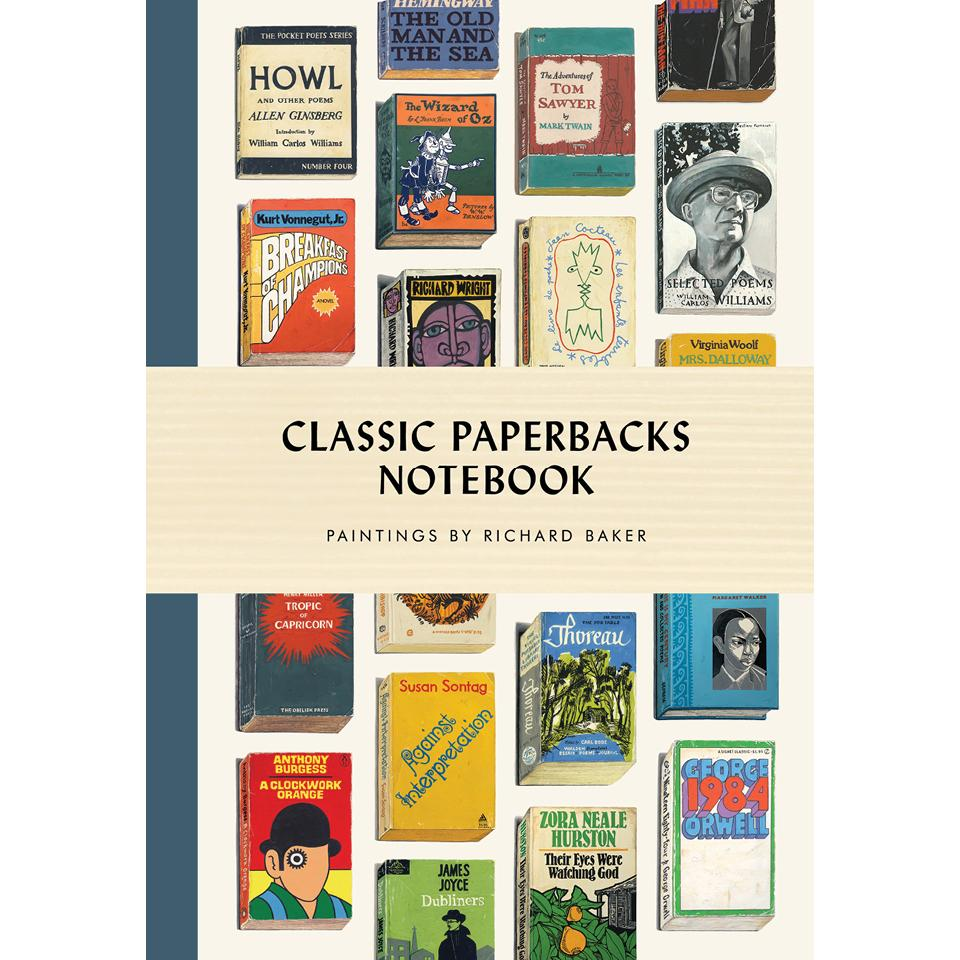Classic Paperbacks Notebook Richard Baker