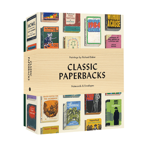 Classic Paperbacks Notecards and Envelopes Richard Baker