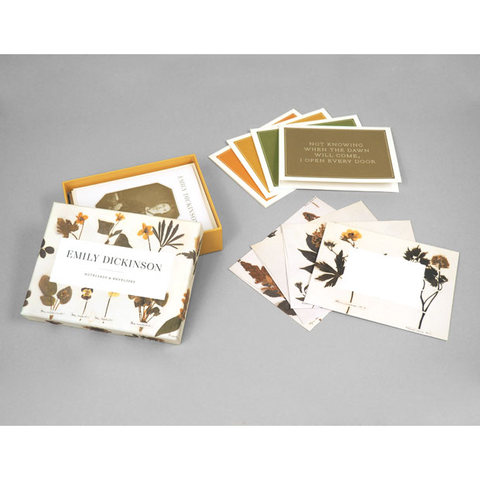 Emily Dickinson Notecards Princeton Architectural Press