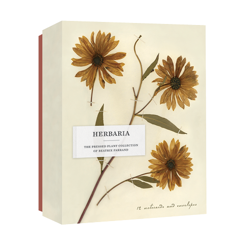 Herbaria: The Pressed Plant Collection of Beatrix Farrand Princeton Architectural Press